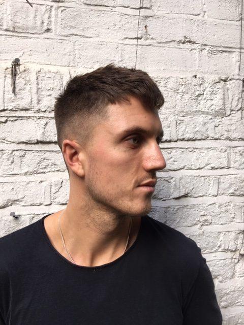 Men's hair Crop by Oliver at Oliver Stephens, Soho
